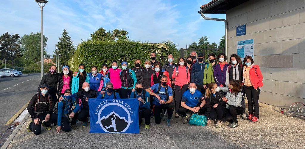 Grupo Lasarte-Oria Trail Subida a Gorbea